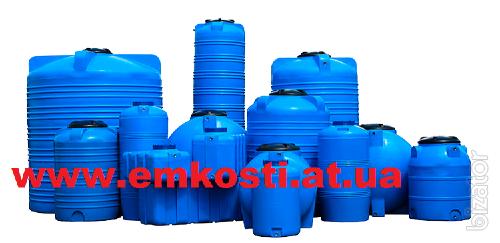 Plastic barrels for water