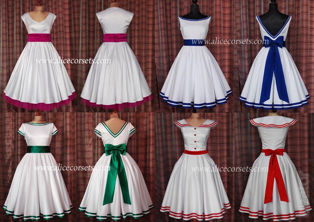 Сшить платье в стили стиляги 80
