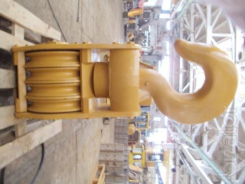 Hook suspension, polyspast TG-503, TG-502.