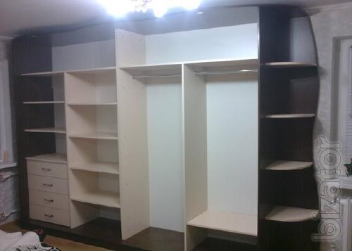 Freestanding wardrobes made to order in Kiev