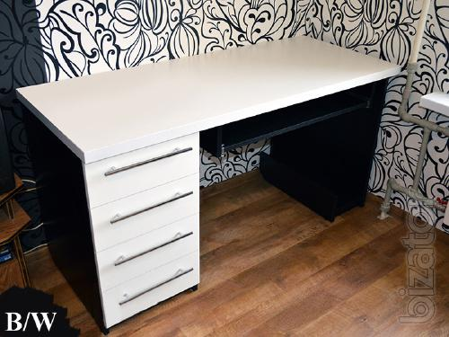 Writing table with stand for computer