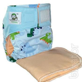 Reusable diaper with Velcro Coolababy