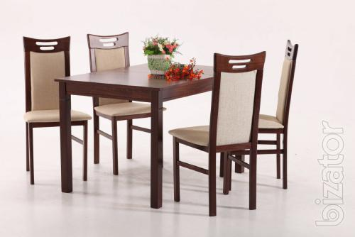 Tables and chairs made of solid wood . Krivoy Rog