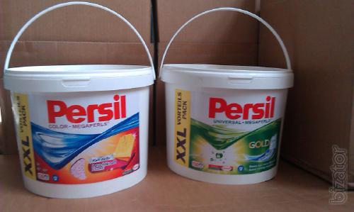 Wholesale Persil Megaperls 10kg buckets price 180 USD.