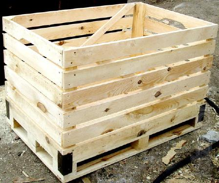 container vegetable wooden HH