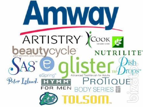 The Amway products at the same price