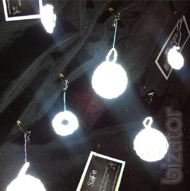 Reflective key chains, reflective accessories, reflector, reflective clothes