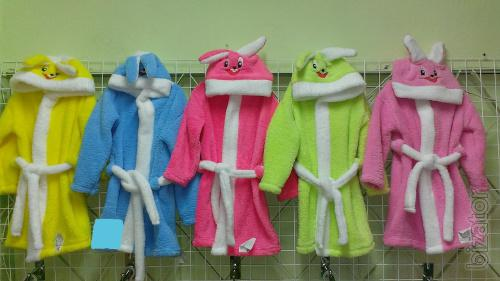 Children's Bathrobe Bunny