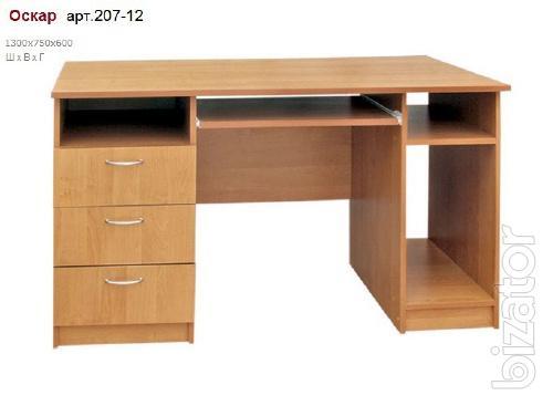 Computer Desk Oscar chipboard art.207-12
