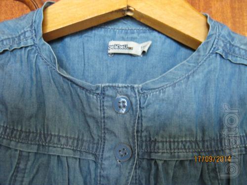 Bolero (pizhdak, jacket) cotton under gains 5-10 years