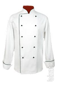 sewing clothes for cooks and waiters