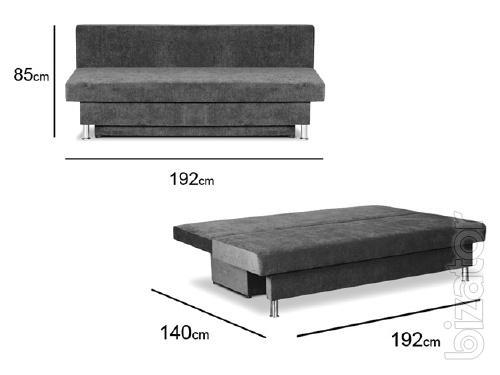 Eurobook Milan sofa No. 5 GOLD fabric