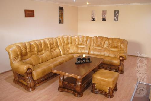New Leather Corner sofas with European factories (under-order and subject to availability.