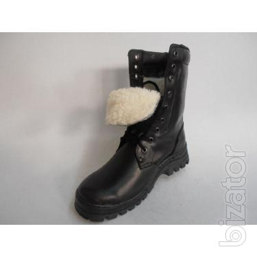 Boots of leather fall,winter,spring