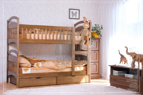 Bunk beds from Karina alder.