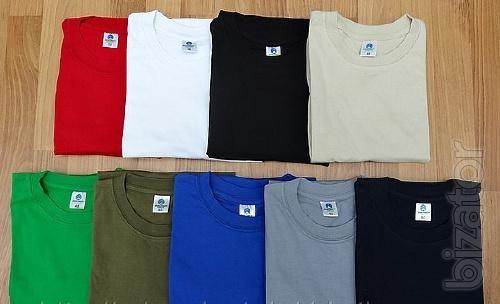 T-shirts are plain (sell)