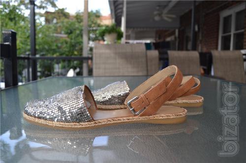 Sandals Stuart Weitzman Armor Silver Slide Sandals, original