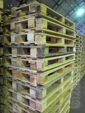 Constantly buy new and used.in the pallets,Euro pallets (europallet) at high prices