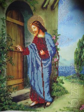"""Icon of Jesus knocking at the door"""""""