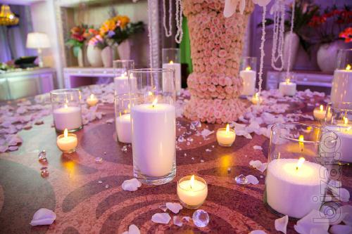 Bulk candles, decoration candles, wedding candles.