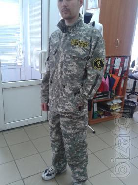 Military field suit in Kiev