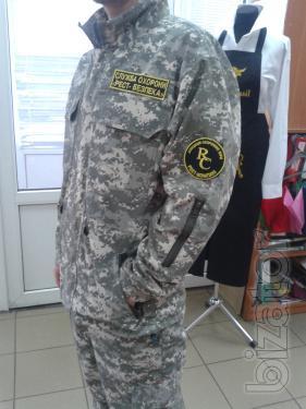Military field suit in Kiev under the order