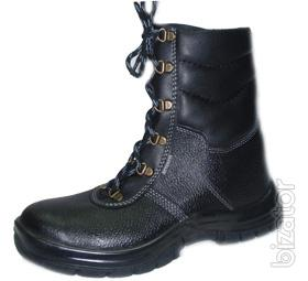 Boots working Kiev