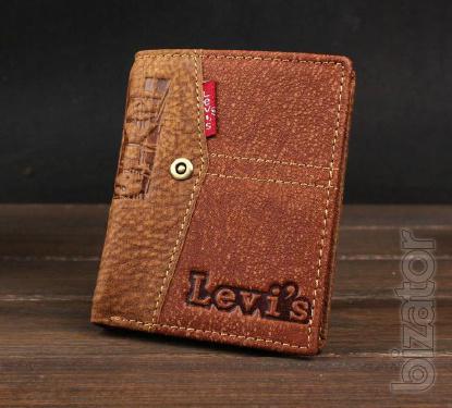 Leather purse levis