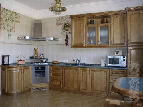 Manufacture and installation of kitchen furniture in Odessa on an individual project