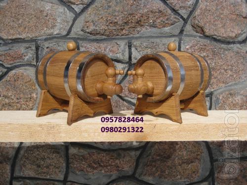 Oak barrels for wine, brandy, kvass. Cooperage, various utensils.