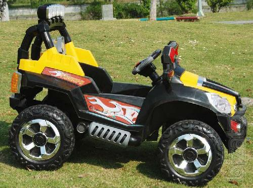 The attention. Brilliant Gift - Huge Kids Electric Jeep Triumf FS 801