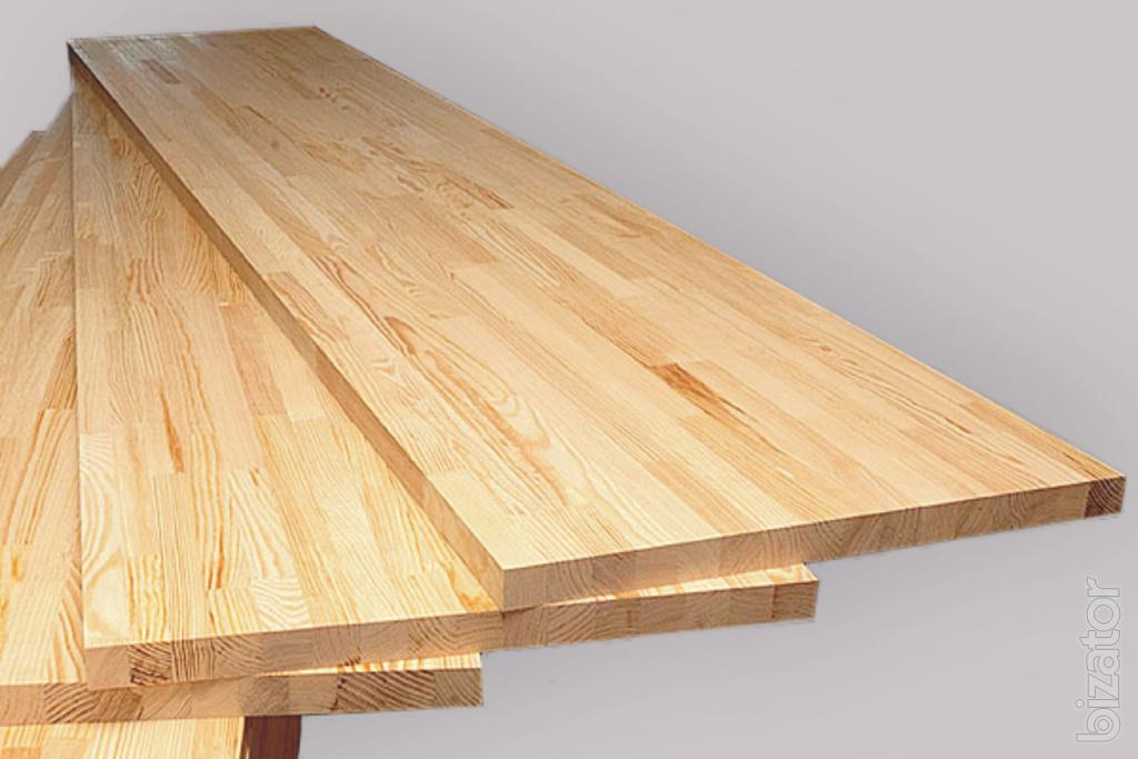 Furniture board steps countertops made of pine and oak for Furniture board