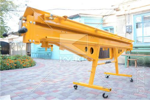 Plate bending machine with rotary beam Sorex ZRS-3160