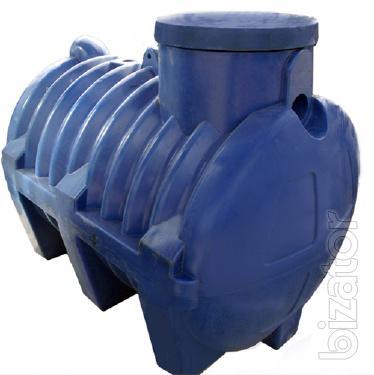 Septic tanks for Autonomous sewer
