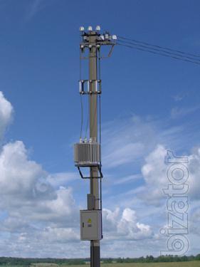 Complete transformer substation pole TACC.