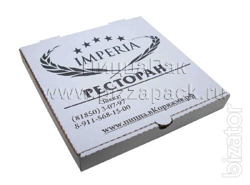 Pizza boxes, Packaging for Pizza