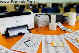 Barcode label maker software for packaging supply
