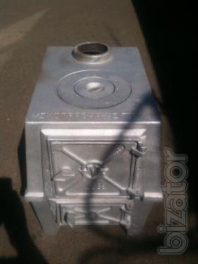 Cast iron stove. Stove cast iron 1 burner. Collapsible. Furnace new