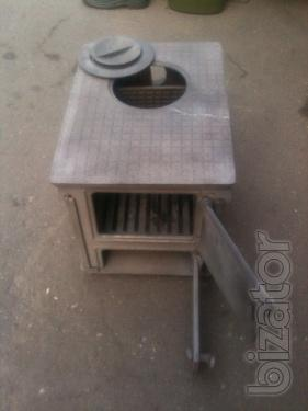 The small stove. Stove cast iron 1 burner folding. New. of the USSR.