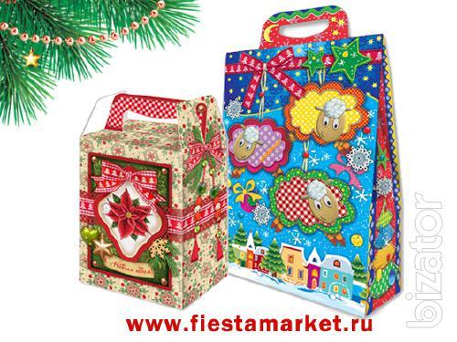 Christmas packaging - cardboard box 2015