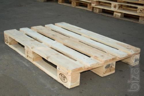 Buy used pallets, Euro pallets