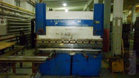 Sheet bending machine ironmac hpb-40/2000 (40 TC 2000 mm