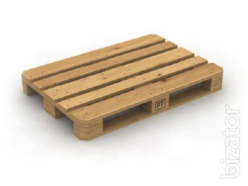 the production of wooden pallets