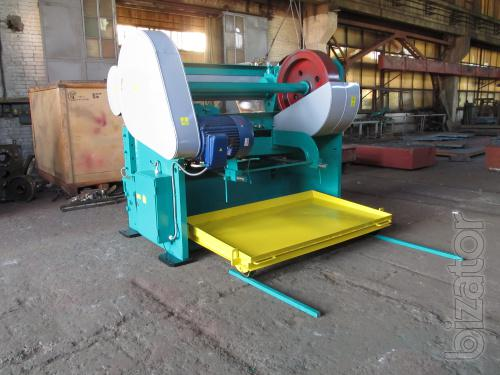 Guillotine from 0.1 mm to 20mm - guillotine production Chernihiv mechanical plant, Ukraine
