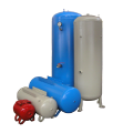 Receivers air volume from 25 liters to 2000 liters