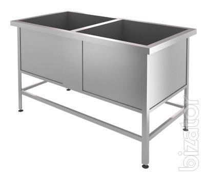 Sell washing baths welded stainless steel at a restaurant, cafe, catering