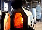 The steam boiler E - 2.5-0.9 GM wood