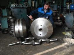 Repair of air and gas compressors