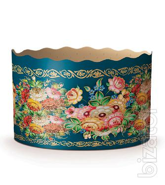 Sell paper forms for baking Easter cakes, various Easter decorations from the manufacturer. Wholesale and retail