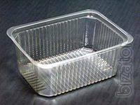 The production of blister packs, trays, tray